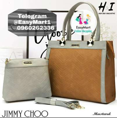 2 Pcs Jimmy Choo Handbag