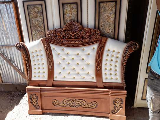 Leather Bed image 1