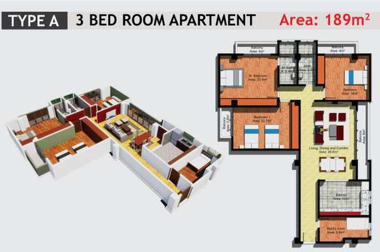 JAMBO REAL ESTATE 1 & 2 BEDROOM APARTMENT image 12