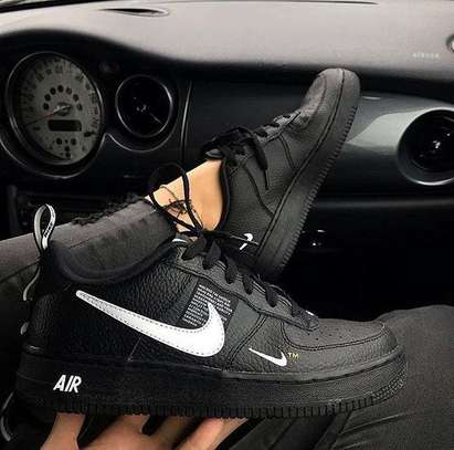 Black Nike Air Force Shoes