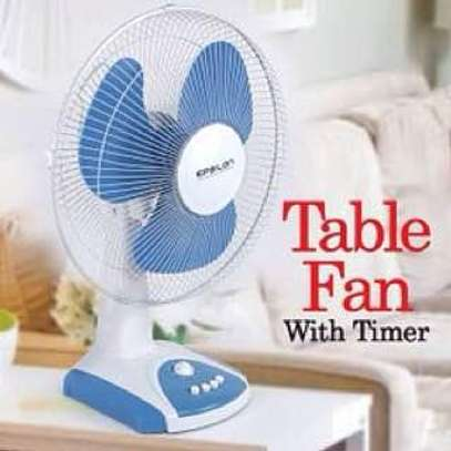 Table Fan With Timer