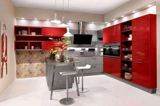 Red Complete Kitchen image 1