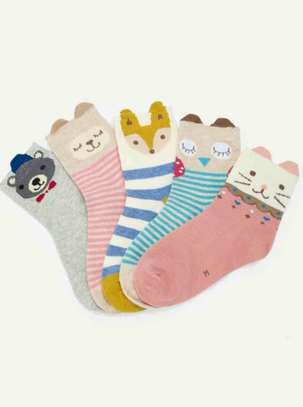 Kids Cartoon Socks 5pairs
