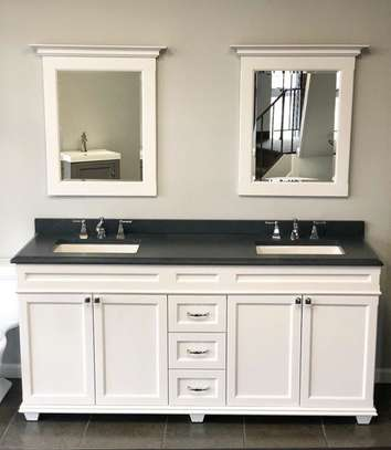 Bathroom Cabinet With Double Sink And Mirror