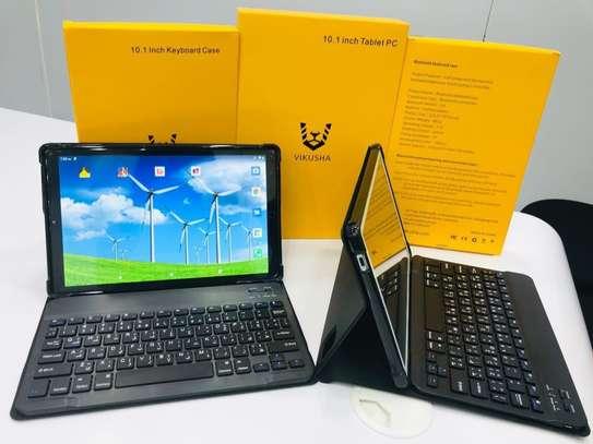 "Vikusha Android Tablet PC 10.1"" :boom:With Keyboard የ2021 ዘመናዊ ታብሌት በተመጣጣኝ ዋጋ ከሙሉ አክሰሰሪ ጋር 6499 ብር ይደውሉ በነፃ እናደርሳለን image 1"