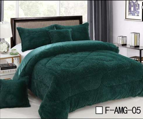 Reversible Luxury 6 pics set comforter - 4 colors image 2