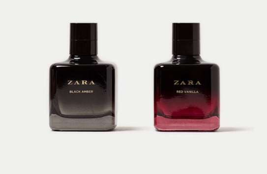 BIG DISCOUNT!!! 2 ORIGINAL ZARA RED VANILLA EAU DE TOILETTE 100 ML + ZARA BLACK AMBER EAU DE TOILETTE 100 ML