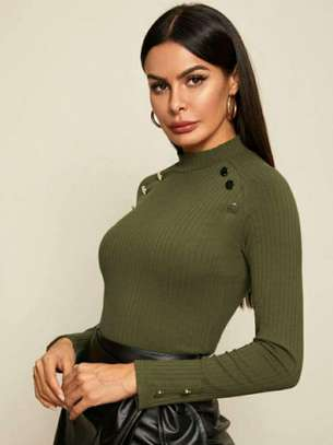 Light Green New Fashion Women Sweater