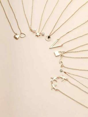 9 Pcs BB Necklaces image 1