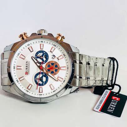 Curren Chronograph Watches image 5