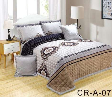 Velvet Bedding ( 6 Pcs Set)
