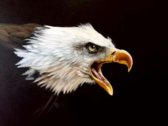 Eagle Acrylic Painting