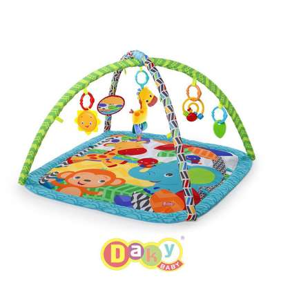 Bright Starts Zippity Zoo Play Mat image 1