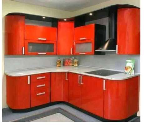 Red Complete Kitchen