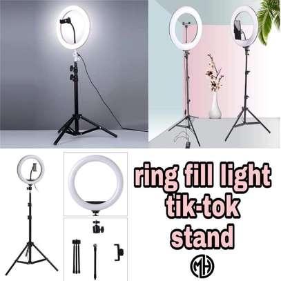Ring Fill Light TikTok Stand image 1