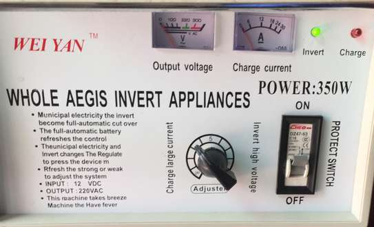 Silent Power Generator - Power inverter backup + Car battery charger