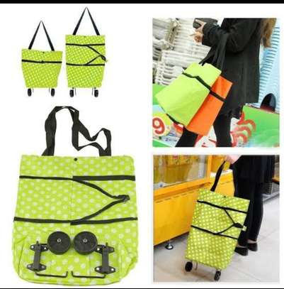 2 in 1 Carry Trolley Bag