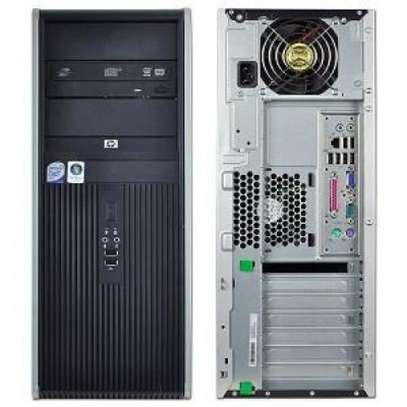 HP DESKTOP Compaq 7900 Tower Intel Core 2 Duo with graphics card image 2