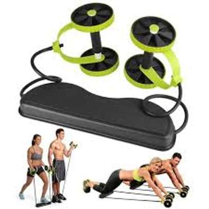 Ab Wheel Multi-Functional Gym Workouts Roller