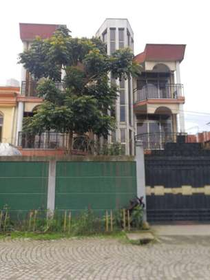 Three Storey Modern House for rent  in 22 Area