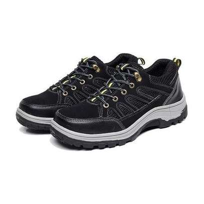 Fashion Men Anti Smashing Puncture Proof Outdoor Safety Work Shoes