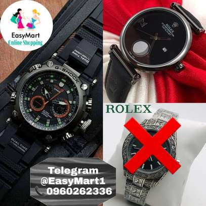 Rolex and G-shock image 1
