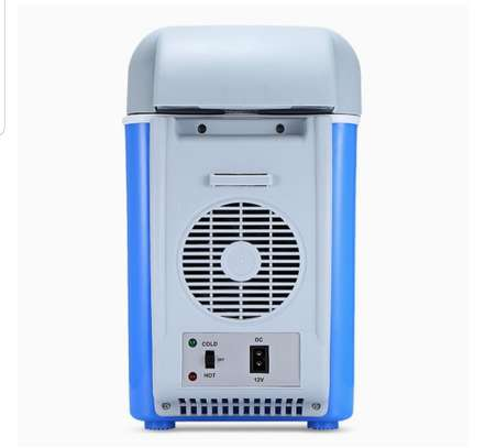 Portable car electronic cooling and warming refrigerator image 4