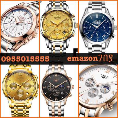 Original water resistance NaviForce Brand Men watch