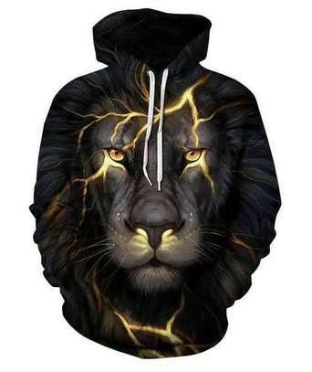 3D Lion Hoodie