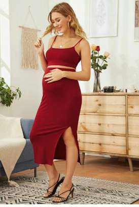 Assorted Colors Maternity Dress