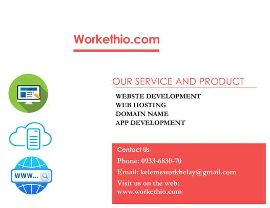 freelance website and application development