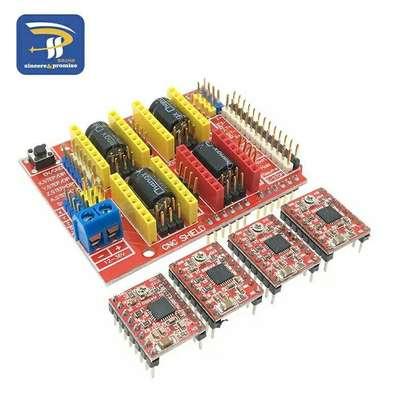 CNC Shield V3 engraving machine 3D Printer + 4pcs A4988 Driver expansion board for Arduino UNO R3