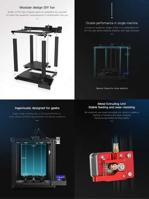 CREALITY Ender-5 Pro 3D Printer; Silent Board Pre-installed; Magnetic Build Plate; Power off Resume Printing; Enclosed Structure image 4