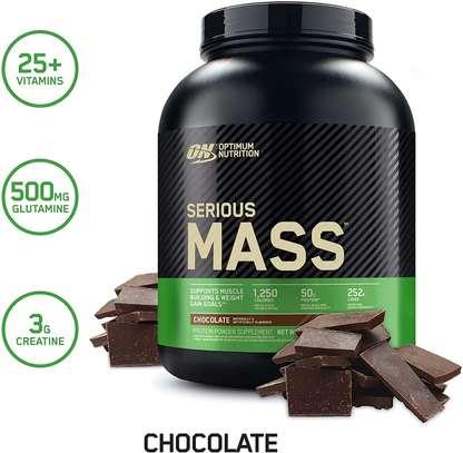 Serious Mass- Weight Gainer Supplement- 2.72 Kgs image 1