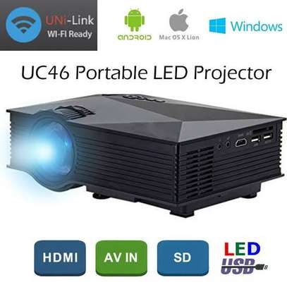 Wi-Fi Ready LED Projector