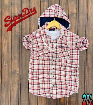 Superdry Shirts with Hoodie image 3