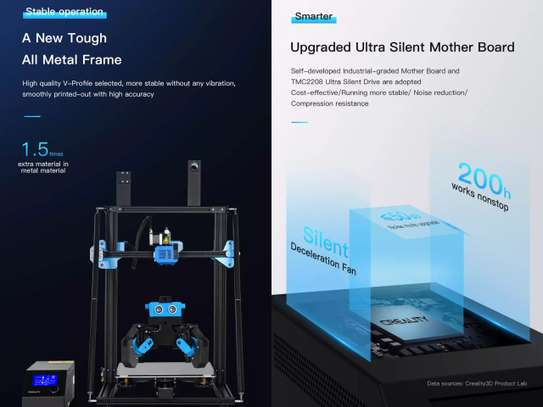 CREALITY CR-10 V3 3D Printer; Size 300*300*400mm, TMC2208 Silent Mainboard, Resume Printing, BL touch Optional image 4