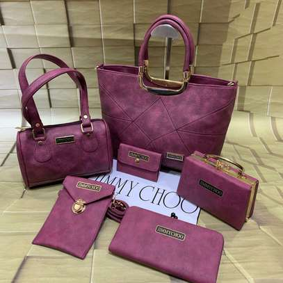 Assorted Colors Jimmy Choo Combo Handbag