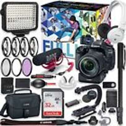 Canon EOS 80D DSLR Camera Premium Video Creator Kit with EF-S 18-135mm
