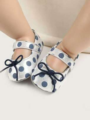 White And Blue New Fashion Kids Shoes