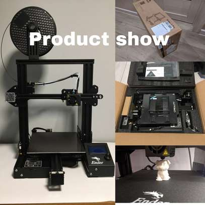 CREALITY Ender-3 Pro 3D Printer; Magnetic Build Plate; Resume Power Failure; MeanWell Power Supply; DIY Assembly Printer Kit image 5