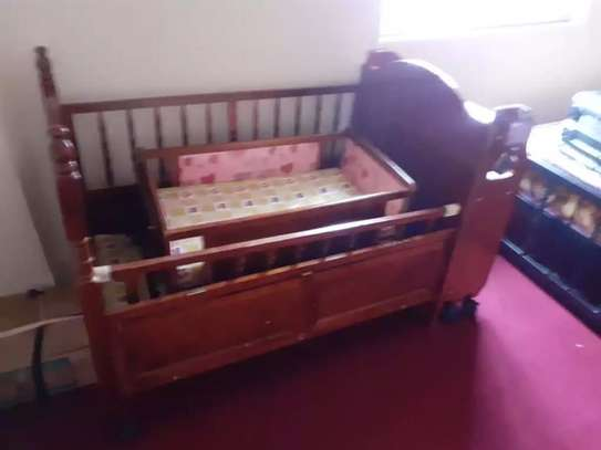 Wooden Baby Bed image 1