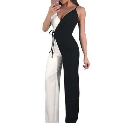 Black & White Ladies Jumpsuit