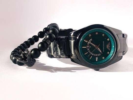 Armani Watch+Bracelet
