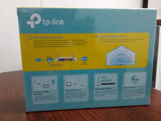 Tp-link 3G/4G Wireless N Router TL-MR3420 image 2