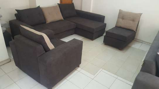 Sofa with Chaise Lounge image 1