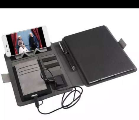 Note book with power bank