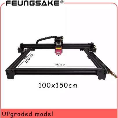 FEUNGSAKE 100*150cm 5.5W/15W/20W/30W Laser Engraving Machine image 1