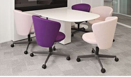 Bene Office Table With 5 Chair image 1