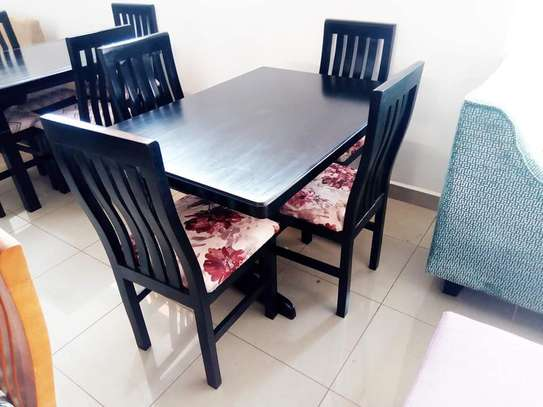 Dining Table With Comfortable Set
